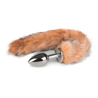 Easytoys - Fox Tail Plug No. 7 - Silver