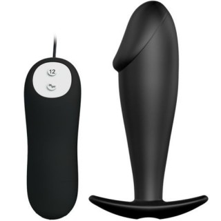 Pretty Love - Bottom Silicone Anal Plug Penis 12 Vibration