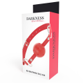 Darkness - Red Breathable ballgag