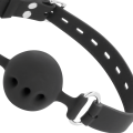 Darkness - Ball Silicone Gag Black