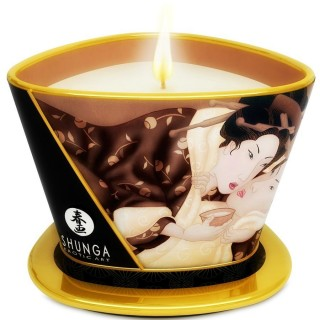 Shunga - Mini Caress By Candlelight Massage Candle Chocolate