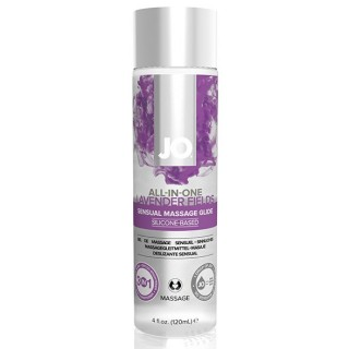 System Jo - All-In-One Sensual Massasje Glidemiddel Lavender 120 ml