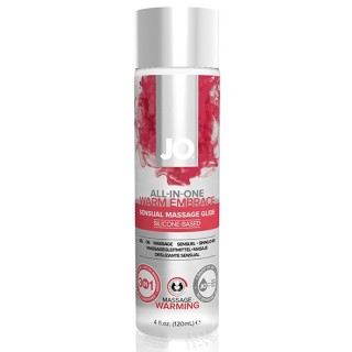 System Jo - All-In-One Sensual Massasje Glidemiddel Warming 120 ml