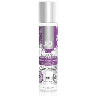 System Jo - All-In-One Sensual Massasje Glidemiddel Lavender 30 ml